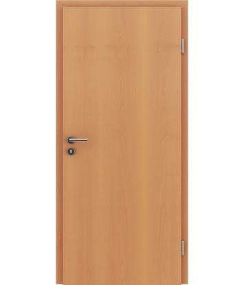 Dýhované interiérové dveře s vertikální strukturo GREENline - buk