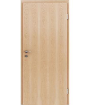 Furnirana notranja vrata s pokončno strukturo GREENline - javor