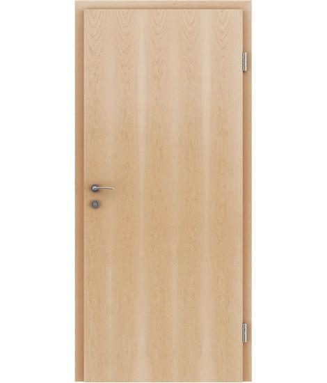 Dýhované interiérové dveře s vertikální strukturo GREENline - javor