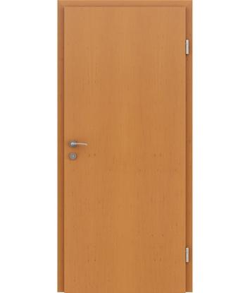 Furnirana notranja vrata s pokončno strukturo GREENline - jelša tonirana