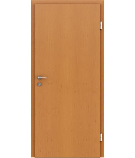 Dýhované interiérové dveře s vertikální strukturo GREENline - olše tónovaná