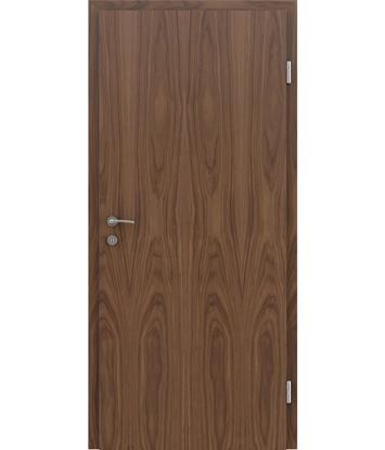 Dýhované interiérové dveře s vertikální strukturo GREENline - ořech