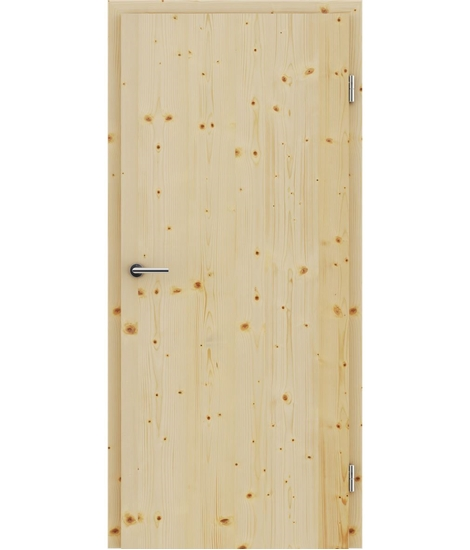 Dýhované interiérové dveře s vertikální strukturo GREENline - smrk sukatý