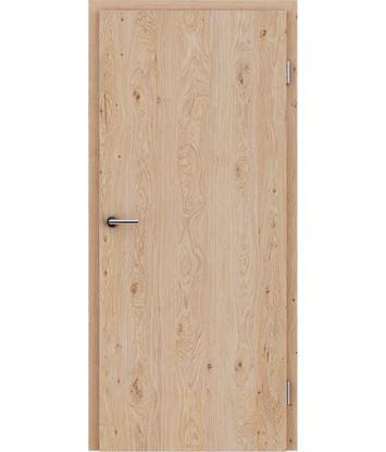 Picture of Dýhované interiérové dveře s vertikální strukturo GREENline - dub sukatý kartáčovaný bíle olejovaný