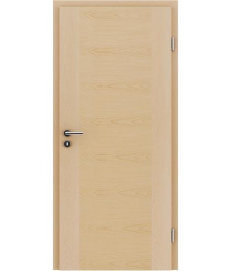Dýhované interiérové dveře s vertikální a/nebo horizontální strukturou VIVACEline - F1 javor