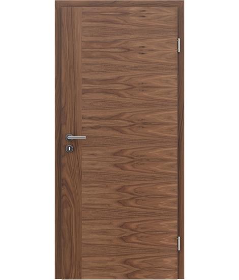 Dýhované interiérové dveře s vertikální a/nebo horizontální strukturou VIVACEline - F3 ořech