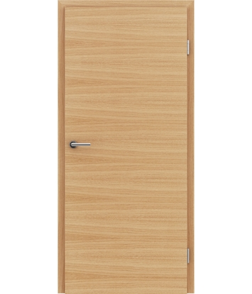 Dýhované interiérové dveře s vertikální a/nebo horizontální strukturou VIVACEline - F4 dub evropský natur lakovaný