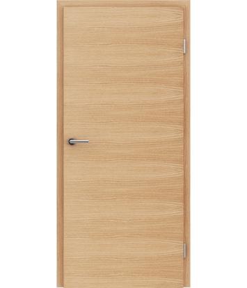 Dýhované interiérové dveře s vertikální a/nebo horizontální strukturou VIVACEline - F4 dub evropský kartáčovaný natur lakovaný
