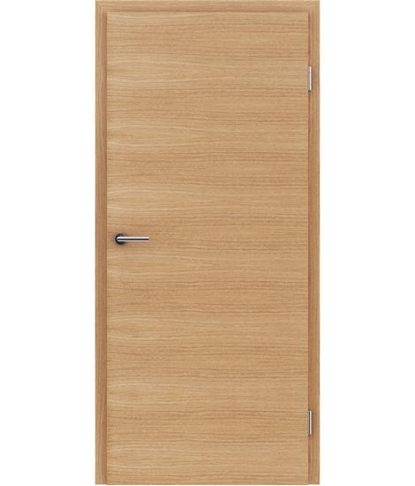 Dýhované interiérové dveře s vertikální a/nebo horizontální strukturou VIVACEline - F4 dub evropský kartáčovaný olejovaný