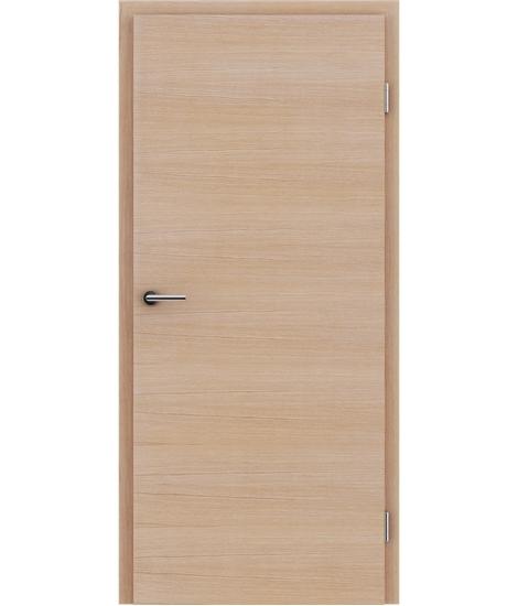 Dýhované interiérové dveře s vertikální a/nebo horizontální strukturou VIVACEline - F4 dub evropský kartáčovaný bíle olejovaný