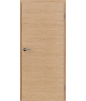Dýhované interiérové dveře s vertikální a/nebo horizontální strukturou VIVACEline - F4 dub evropský mat louhovaný lakovaný