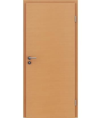 Dýhované interiérové dveře s vertikální a/nebo horizontální strukturou VIVACEline - F4 buk