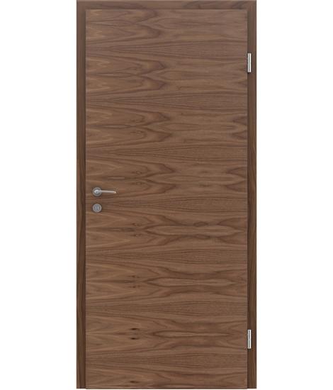 Dýhované interiérové dveře s vertikální a/nebo horizontální strukturou VIVACEline - F4 ořech