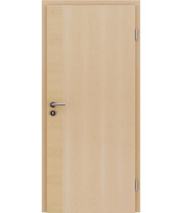 furnirana notranja vrata s kombinirano pokončno in prečno strukturo VIVACEline - F12 javor