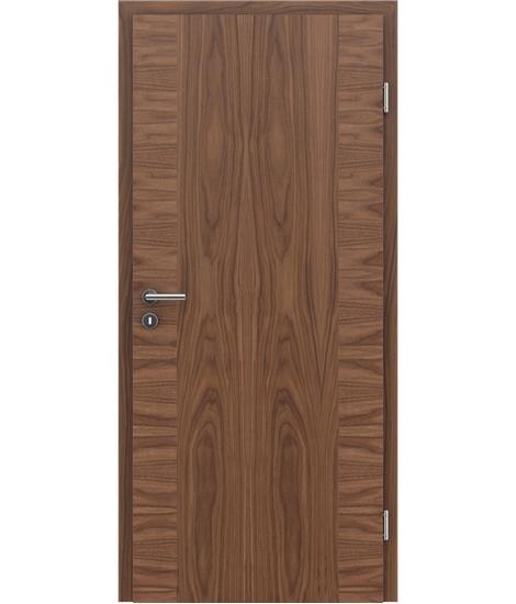Dýhované interiérové dveře s vertikální a/nebo horizontální strukturou VIVACEline - F14 ořech