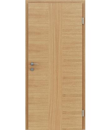 Dýhované interiérové dveře s vertikální a/nebo horizontální strukturou VIVACEline - F41 dub intarzie dub