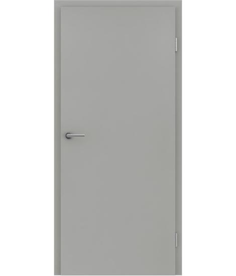 CPL interiérové dveře pro snadnou údržbu VISIOlin - šedý