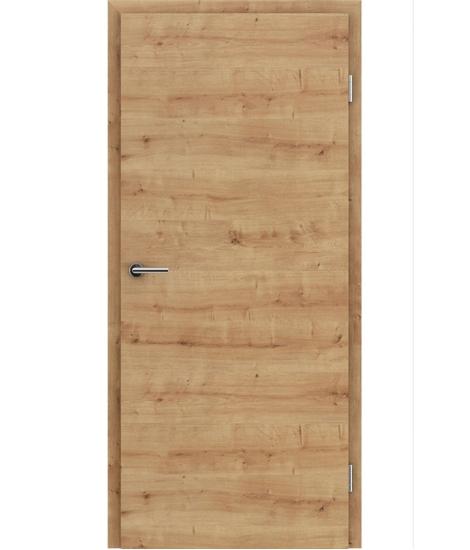 CPL interiérové dveře TOPline - L1 DYNAMIC dub sukatý 3D