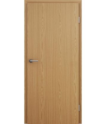 Interiérové dveře s imitací dýhy BASICline - dub světlý