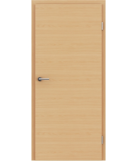 Interiérové dveře s imitací dýhy BASICline - L1 buk bordeaux
