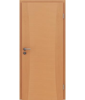 Picture of Dýhované interiérové dveře s intarziemi HIGHline - I13 buk