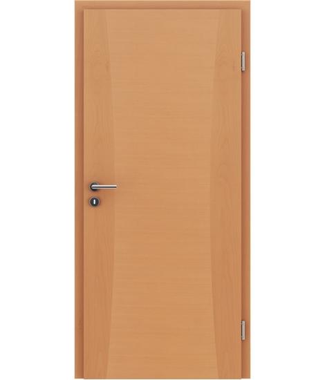 Dýhované interiérové dveře s intarziemi HIGHline - I13 buk