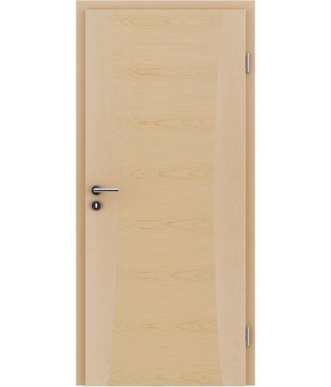 Dýhované interiérové dveře s intarziemi HIGHline - I13 javor