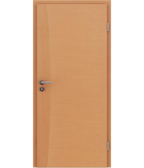 Dýhované interiérové dveře s intarziemi HIGHline - I14 buk