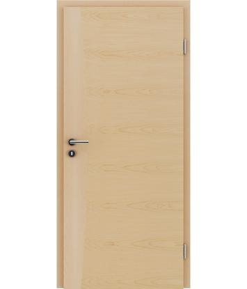 Dýhované interiérové dveře s intarziemi HIGHline - I14 javor