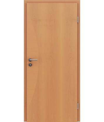 Picture of Dýhované interiérové dveře s intarziemi HIGHline - I3 buk, intarzie buk