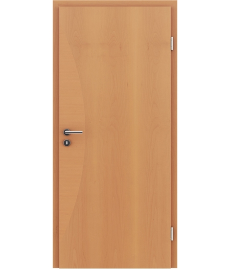 Dýhované interiérové dveře s intarziemi HIGHline - I3 buk, intarzie buk