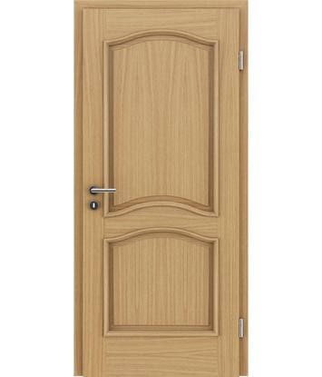 Picture of Dýhované interiérové dveře s okrasnými lištami - NAPOLEON STILline - SNC dub evropský