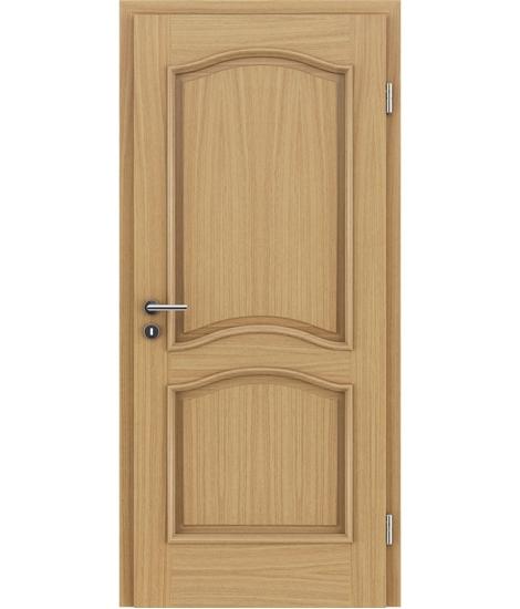 Dýhované interiérové dveře s okrasnými lištami - NAPOLEON STILline - SNC dub evropský