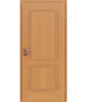 Picture of Dýhované interiérové dveře s okrasnými lištami STILline - SOA buk