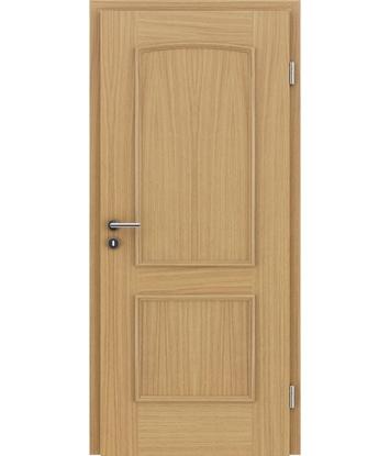 Dýhované interiérové dveře s okrasnými lištami STILline - SOA dub evropský