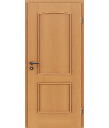 Dýhované interiérové dveře s okrasnými lištami STILline - SOAD buk