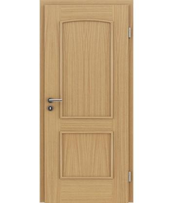 Picture of Dýhované interiérové dveře s okrasnými lištami STILline - SOAD dub evropský
