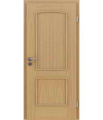 Dýhované interiérové dveře s okrasnými lištami STILline - SOAD dub evropský