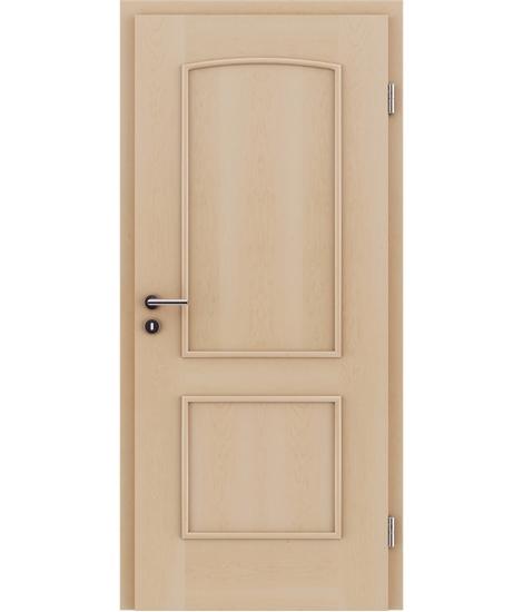 Dýhované interiérové dveře s okrasnými lištami STILline - SOAD javor