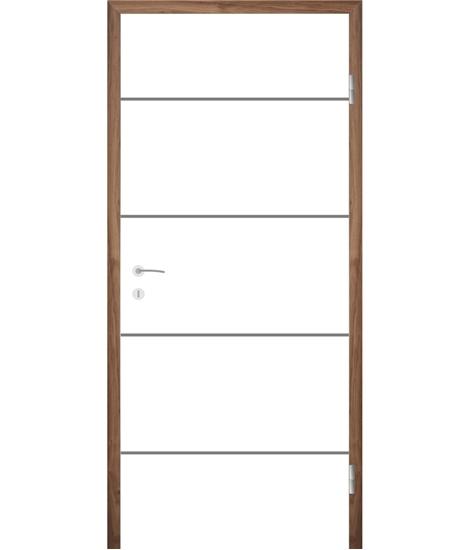 Bíle lakované interiérové dveře COLORline - EASY R27L