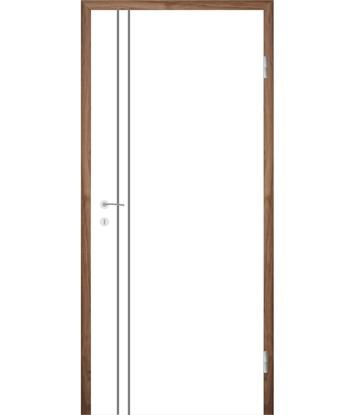 Picture of Bíle lakované interiérové dveře COLORline - EASY R28L