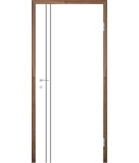 Bíle lakované interiérové dveře COLORline - EASY R28L