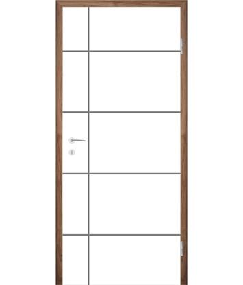 Picture of Bíle lakované interiérové dveře COLORline - EASY R34L