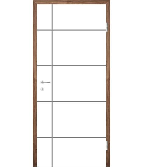 Bíle lakované interiérové dveře COLORline - EASY R34L