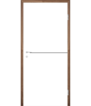Picture of Bíle lakované interiérové dveře s drážkami COLORline - MODENA R37L