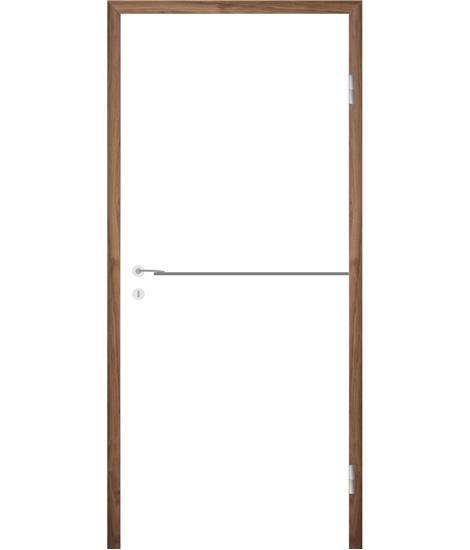 Bíle lakované interiérové dveře s drážkami COLORline - MODENA R37L