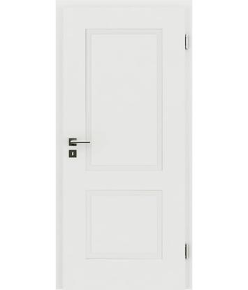 Picture of Bíle lakované interiérové dveře s reliéfy KAISERline KAISERline - R38L bíle lakováno