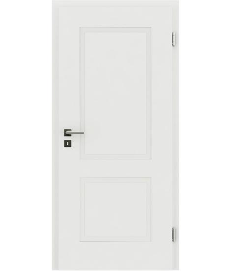 Bíle lakované interiérové dveře s reliéfy KAISERline KAISERline - R38L bíle lakováno