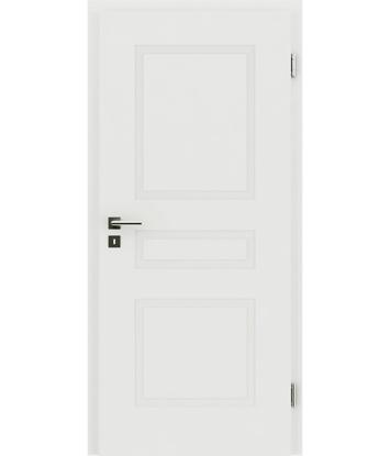 Picture of Bíle lakované interiérové dveře s reliéfy KAISERline KAISERline - R39L bíle lakováno