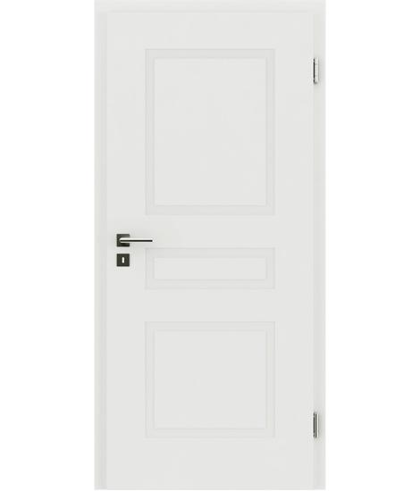 Bíle lakované interiérové dveře s reliéfy KAISERline KAISERline - R39L bíle lakováno